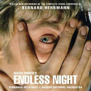 Bernard Herrmann Endless Night New Soundtrack Recording New CD Italy Imp $26.38