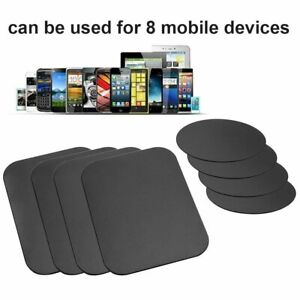 8 Pack Metal Plates Sticker Replace For Magnetic Car Mount Magnet Phone Holder $4.25