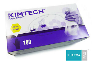 KIMBERLY CLARK MICROGRIP PURPLE Nitrile Exam Gloves Box of 100 $25.00