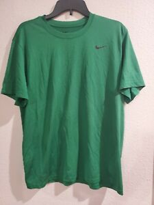 Mens Nike Dri Fit Athletic Shirt Size Large Green $13.99