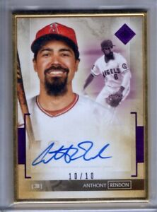 2020 Transcendent Collection Auto ANTHONY RENDON Gold Framed AUTOGRAPH 10 Topps $129.99