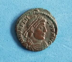 Valens Ancient Roman Coin AE3 Victory EF #497 $29.99
