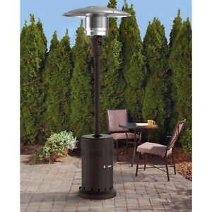Mainstays Large Outdoor Patio Heater Powder Coat Brown MS3710600301 $179.99