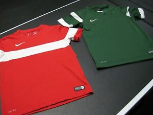 Nike DRI FIT Shirts Soccer Jersey's 2 Youth Small $16.00