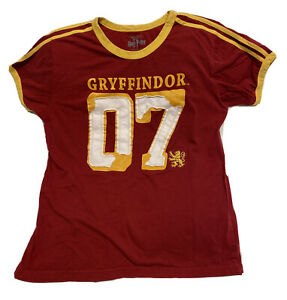 The Wizarding World of Harry Potter Gryffindor Quidditch Jersey Shirt Size M $39.99