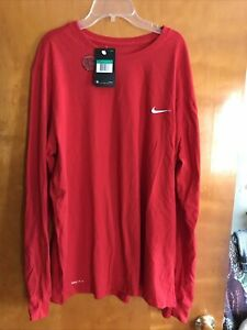Men's Nike XL Dri Fit Cotton L S Tee $15.00