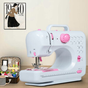 Sewing Machine Portable Electric Crafting Mending Machine 12 Built In Stitches $48.99