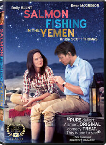 Salmon Fishing in the Yemen DVD 2012 NEW Factory Sealed Free Shipping
