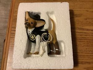 Hamilton Collection Sher Ruff Paws Spurs  Fur Chihuahua Collection