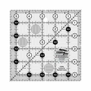 Creative Grids 5.5quot; Square Quilting Ruler Template CGR5 $14.97