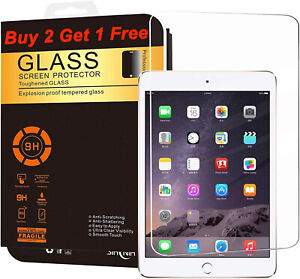 High Premium Tempered Clear Glass Screen Protector For Apple iPad Mini 1 2 3 $4.99