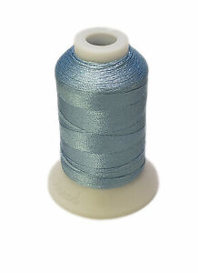Embroidery Thread Light Blue For Brother Machine #017 Polyester 550 Yards Spool $1.99