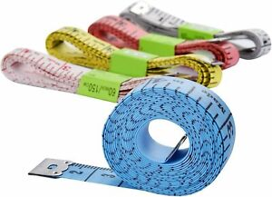60 Body Measuring Tailor Tape Ruler Sewing Cloth Measure Seamstress Soft Flat