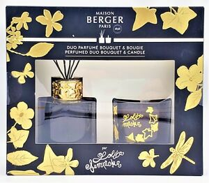 Lolita Lempicka Duo Bouquet Reed Diffuser and Candle Set New Fast Finescents