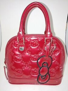 Loungefly Hello Kitty Purse Red Patent