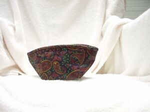 Longaberger Stand Up Tee Basket Liner Paisley New Old Stock $9.99