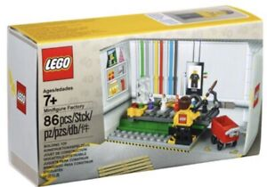 LEGO 2018 MINIFIGURE FACTORY 5005358 40th ANNIVERSARY PROMOTION NEW SEALED