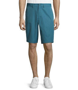 George Shorts Mens Size 44 Blue Flat Front GE Performance $17.99