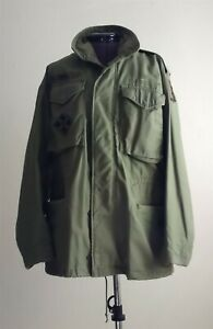 Vintage Army Coat NATO John Ownbey Co Cold Weather Field Coat Mens Small Regular $59.99