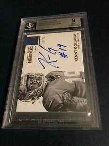 2017 Kenny Golladay Panini Rookie Auto 75 RARE🔥SP BGS 9 Mint💎Invest📈HOT RC $135.00