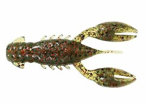 6 Pack ZMan TRDCR 18PK6 Realistic Ned Rig Fishing Lures Crawfish Bass Bait 2.5quot;