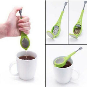 Tea Infuser Loose Tea Leafs Strainer Herbal Spice Silicone Filter Diffuser THHH