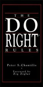 Do Right Rules by Peter Chantilis $4.37