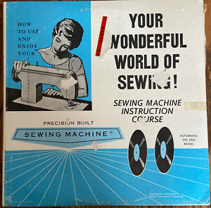 2 LP#x27;s quot;Your Wonderful World Of Sewingquot;. Sewing Machine Instruction Guide Zigzag $24.99