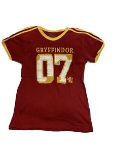 The Wizarding World of Harry Potter Gryffindor Quidditch Jersey Shirt Size Small $39.99