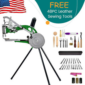 Hand Machine Cobbler Shoe Repair Machine With 48Pcs Leather Sewing Tools $90.99