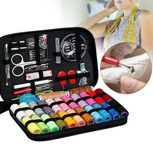99pcs Portable Home Travel Use Professional Sewing Kits Case DIY Craft Gift New $9.52