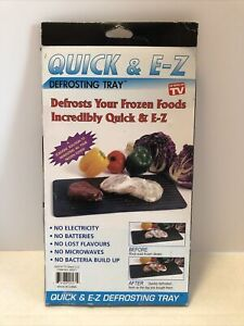 Quick E Z Defrosting Tray Kitchen Tools Gadgets. New. T