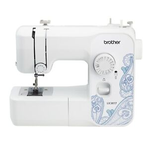 Brother LX3817 17 Stitch Full Size Sewing Machine White $77.99