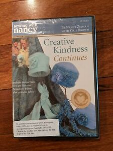 Sewing With Nancy quot;Creative Kindness Continuesquot; $15.00