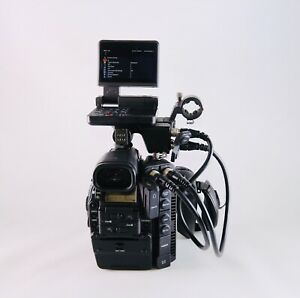 Canon C300 Mark II Cinema EOS Camcorder Body EF Lens Mount Low Hours #730 Total $4449.95