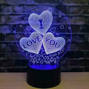 Mothers Day Gift for Mom Women Girls Ladies💘Love LED Light Gifts Home Decor