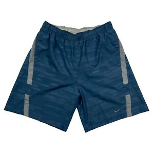 """Nike Running Shorts Men's Size Small Blue 7"""" Inseam Lined $16.99"""
