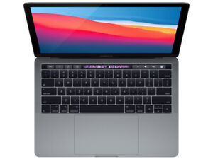 2018 Apple MacBook Pro Touch Bar 13 Gray 2.3GHz Quad i5 8GB 256GB Certified $849.00