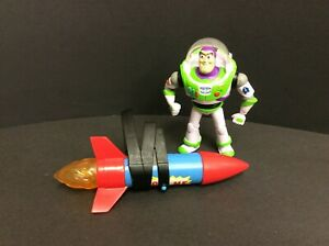 Toy Story Buzz Lightyear w Rocket Sounds Talks Mattel Moving Day Action Figure $14.99