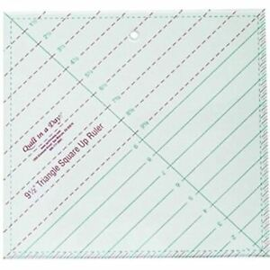 Quilt in a Day 9.5 inch triangle square up ruler $23.27
