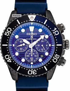Seiko SSC701 Solar Prospex Save The Ocean Watch 200 Meter Blue Dial Box amp; Papers