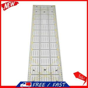 Patchwork Ruler Thick Large Rectangular Sewing Ruler for Cutting Measuring T S1 $16.75