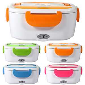 1.5L Portable Lunch Box Electric Food Bento Warmer Storage Car Container Heater.