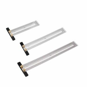 Precision Marking T Ruler Hole Positioning 200 400mm Stainless Steel Measuring $35.98