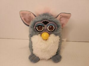 Elephant Blue Pink Furby Tiger Brown Eyes Tested Working $35.00
