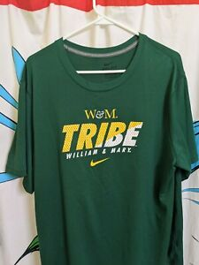 Mens William And Mary Tribe Nike Dri Fit Shirt XL $27.00