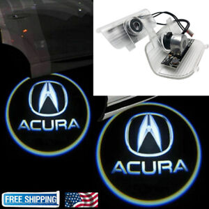For Acura TSX 2009 2014 2x LED Laser Door Logo Ghost Shadow Projector Lights $15.99