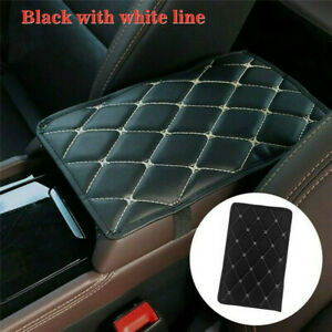 PU Leather Armrest Pad Cover Center Console Box Cushion Mat Car Accessories $6.88