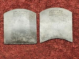 Antique STANLEY No. 60 Double Spoke Shave Blades Irons $24.99