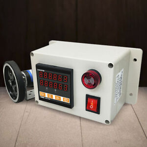 Digital Electronic Meter Counter Roll Measure Test Meters 300ppr Rotary Encoder $92.15